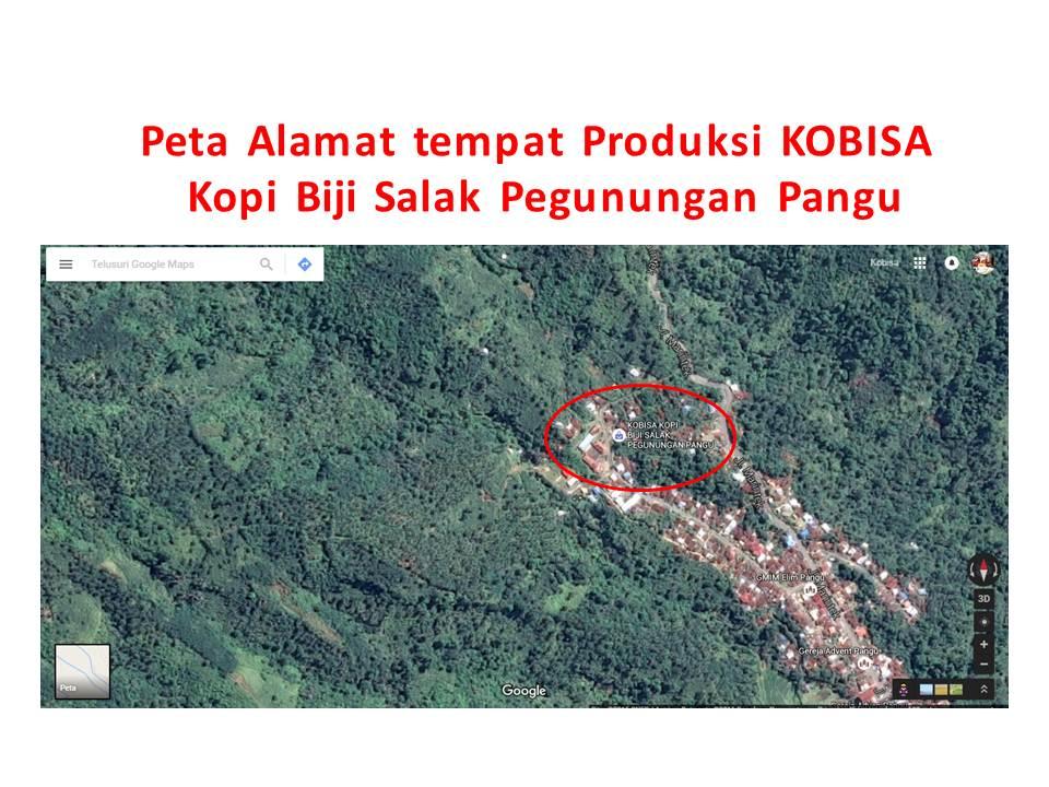 Peta Alamat Tempat Produksi KOBISA
