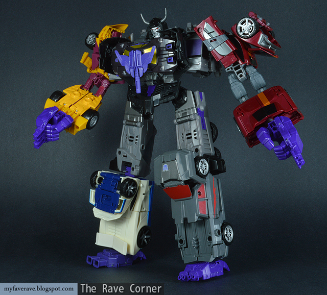 Transformers Combiner Wars Menasor Review - YouTube