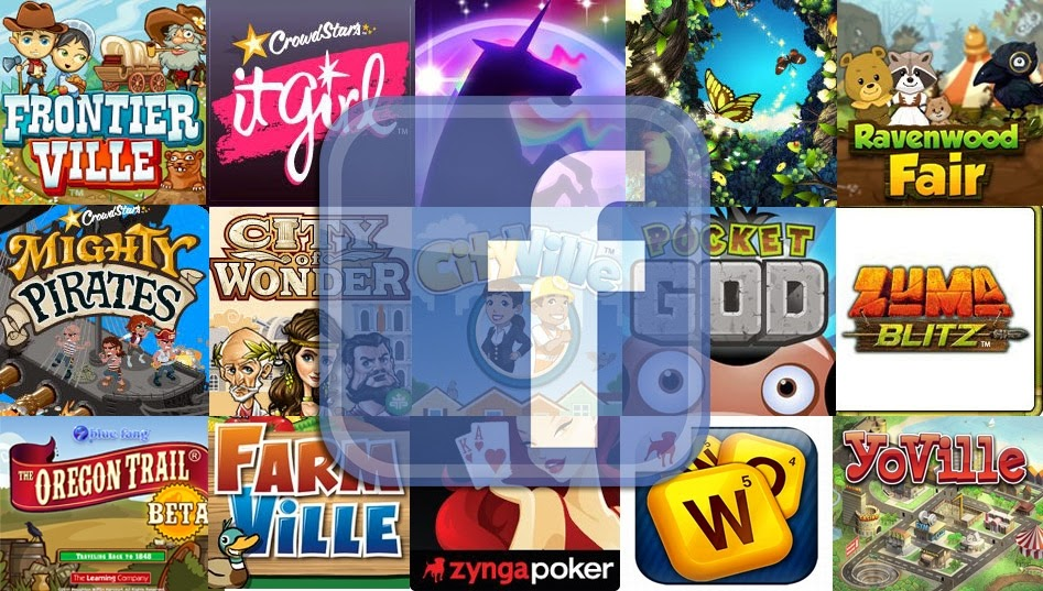 Game Facebook Paling Populer Tahun 2014