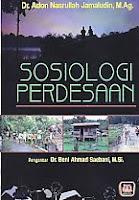 AJIBAYUSTORE  Judul Buku : Sosiologi Perdesaan Pengarang : Dr. Adon Nasrullah Jamaludin, M.Ag.   Penerbit : Pustaka Setia