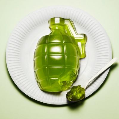Kyle Bean: 'Håndgranat' af spiselig gele