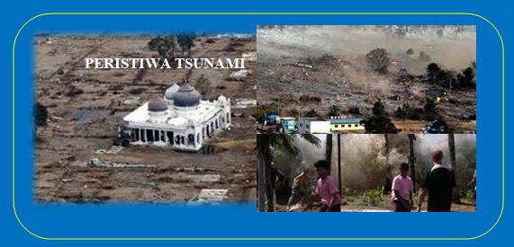 Gambaran Tsunami di Aceh