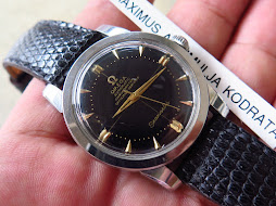 OMEGA SEAMASTER BLACK DIAL - MECHANICAL BUMPER CAL 354