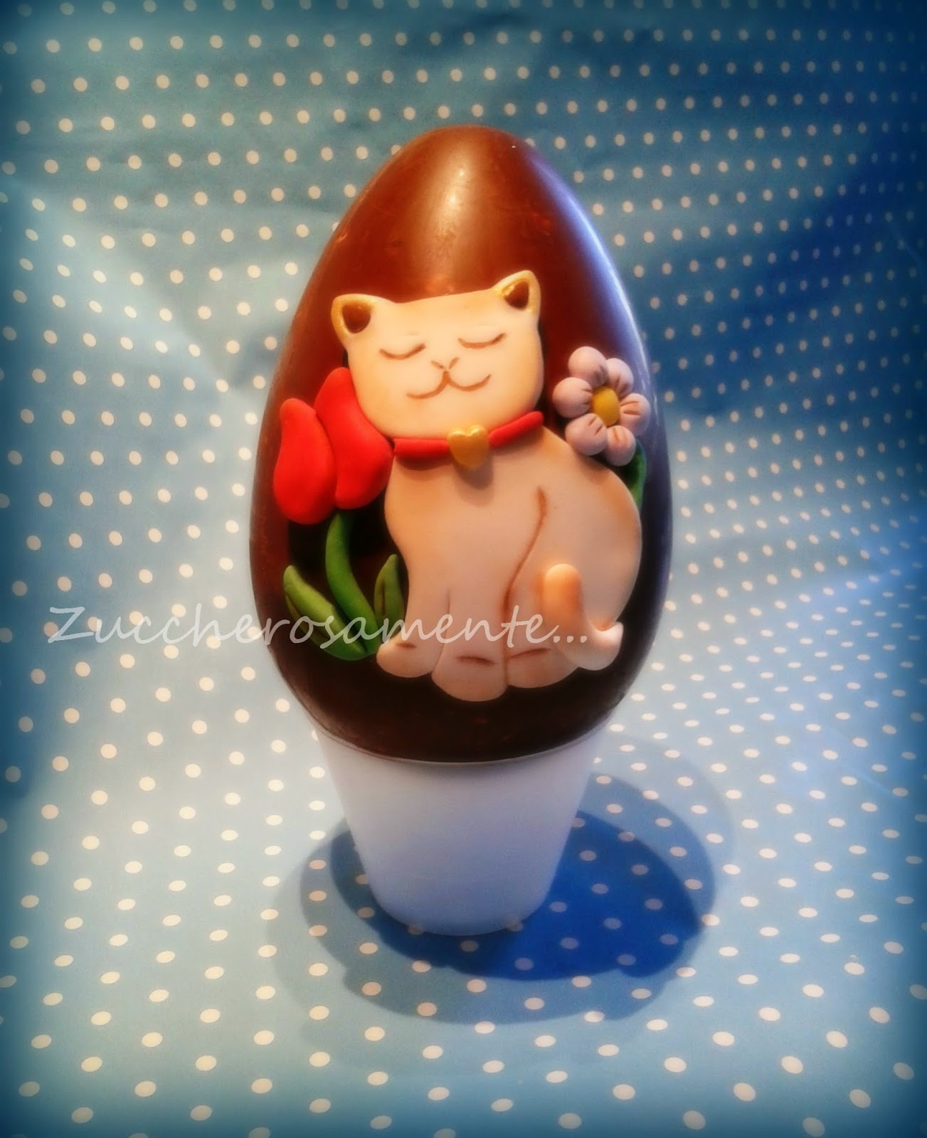 Zuccherosamente uova di pasqua decorate stile thun - Uova di pasqua decorati ...