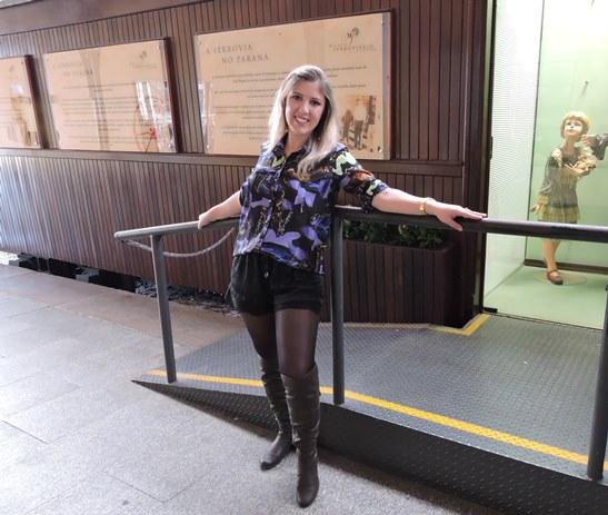 Look - No Encontro de Blogueiras de Curitiba e Região