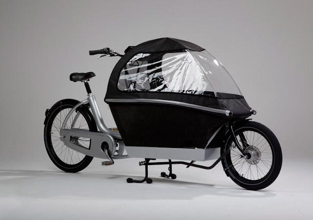Urban Arrow: bicicleta para famílias urbanas