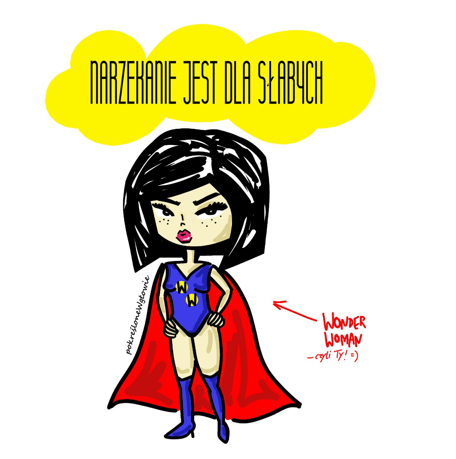 kobieta komiks