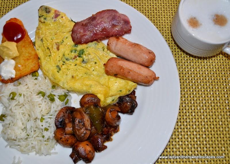 big breakfast at c.taste