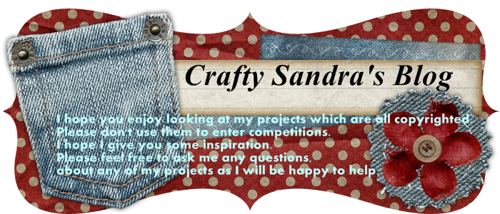 Crafty Sandra's blog