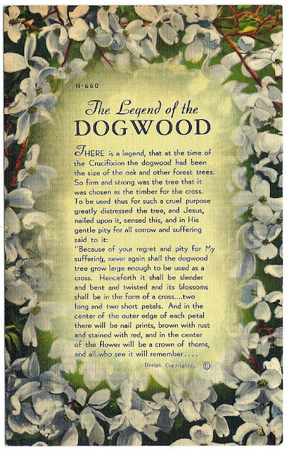 Handy image with regard to legend of the dogwood tree printable