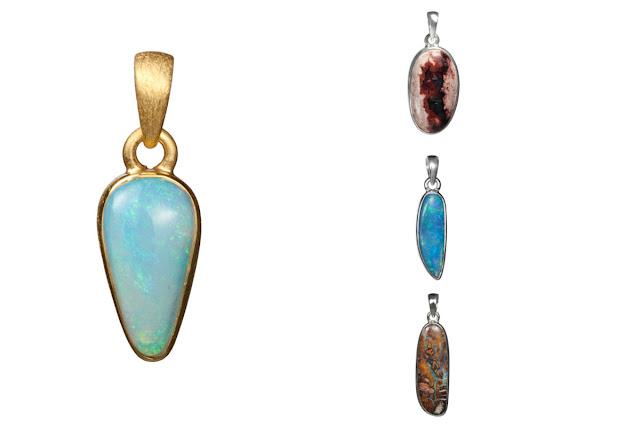 Anhänger mit Opalen