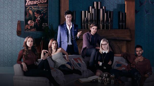 the magicians personajes principales de la nueva serie de syfy