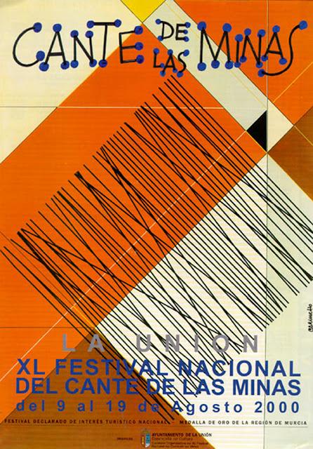 Cartel del Cante de las Minas de 2000