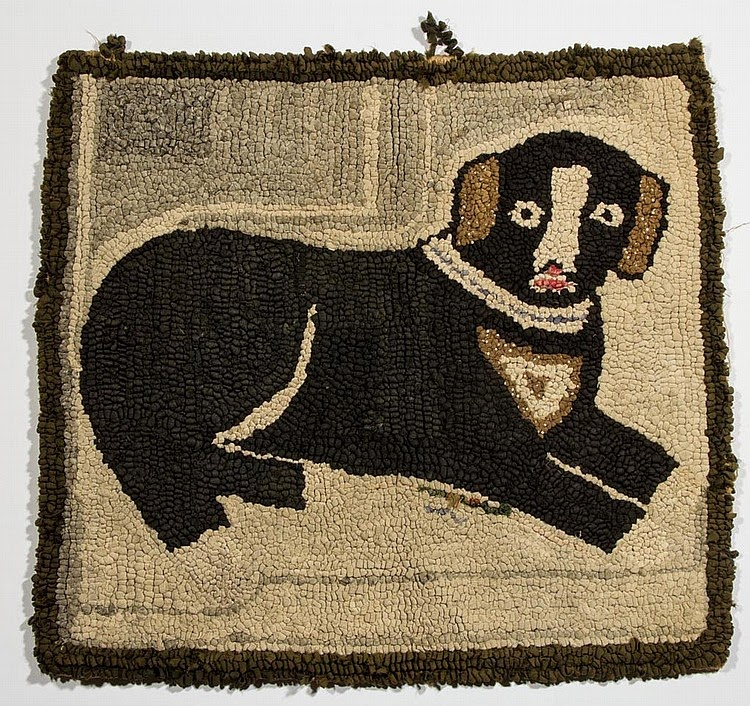 Dog Looks Like A Rug: Saundra Of Woodland Junction: Ready For An Antique Rug Show?