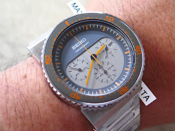 SEIKO CHRONOGRAPH SOFT GREY GREY DIAL-DESIGN BY GIUGIARO-LIMITED EDITION 1244 / 2500-BRAND NEW WATC