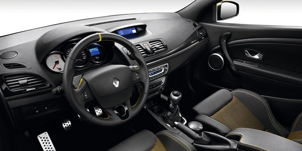 Renault Megane RS Red Bull Racing RB7 2013 interior