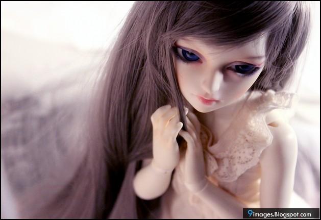 Doll, girl, sad, alone, cute