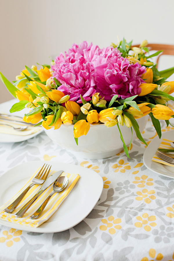 Heart Of Gold Easy Floral Centerpieces
