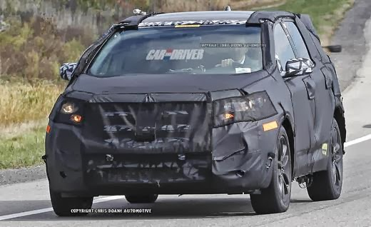 2015 Ford Edge Spy Shots