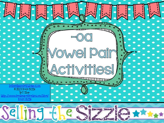 http://www.teacherspayteachers.com/Product/-oa-Vowel-Pair-Activities-1222340