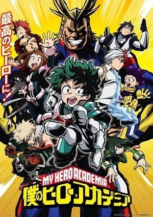 Torrent Anime Desenho Boku no Hero Academia - Legendado 2017  1080p 720p FullHD HD WEBrip completo