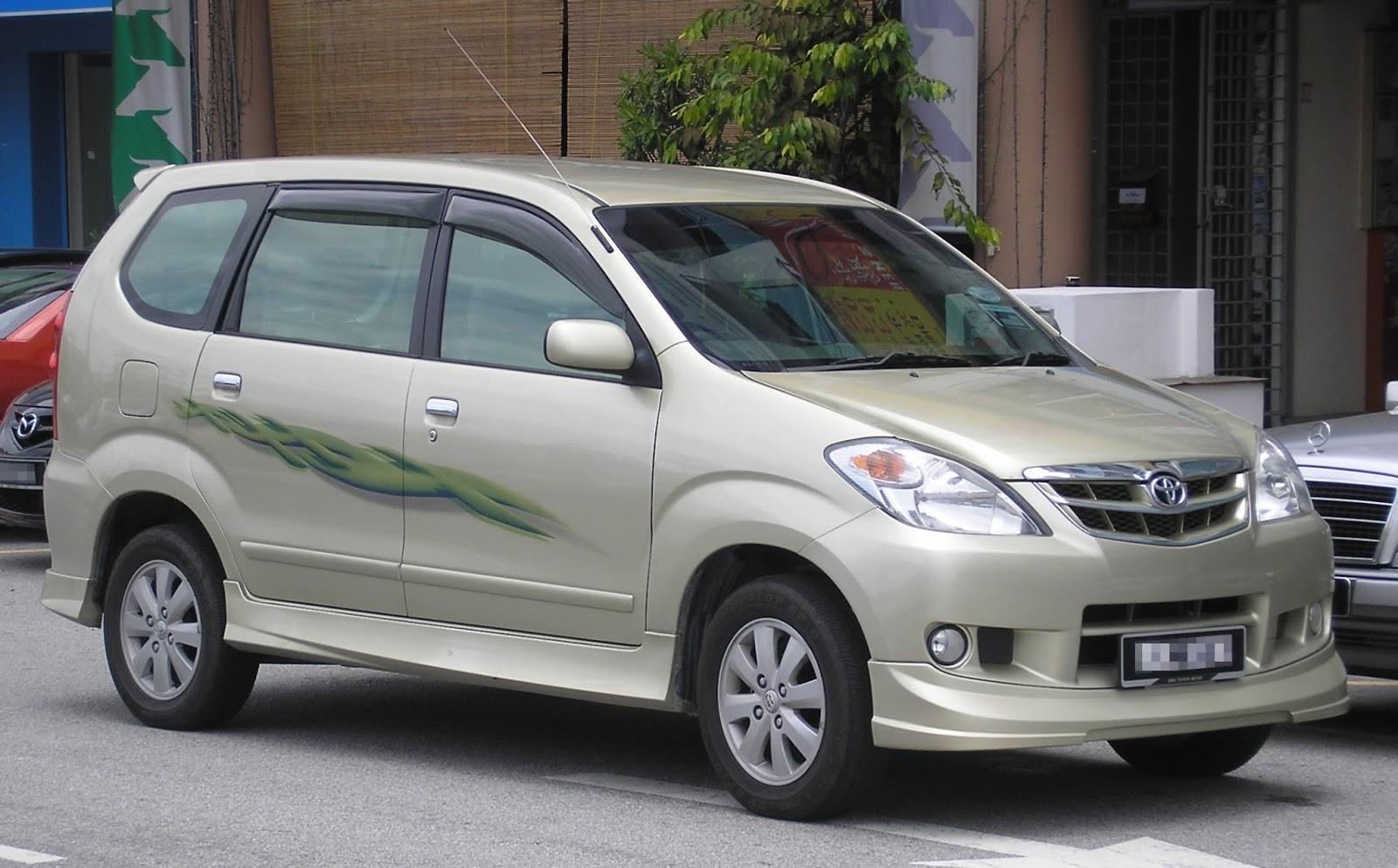harga harga mobil mpv: mobil avanza bekas berlimpah di pasaran