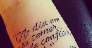Frases Para Tatuagens Tattoo Ideias Para Tatuagens