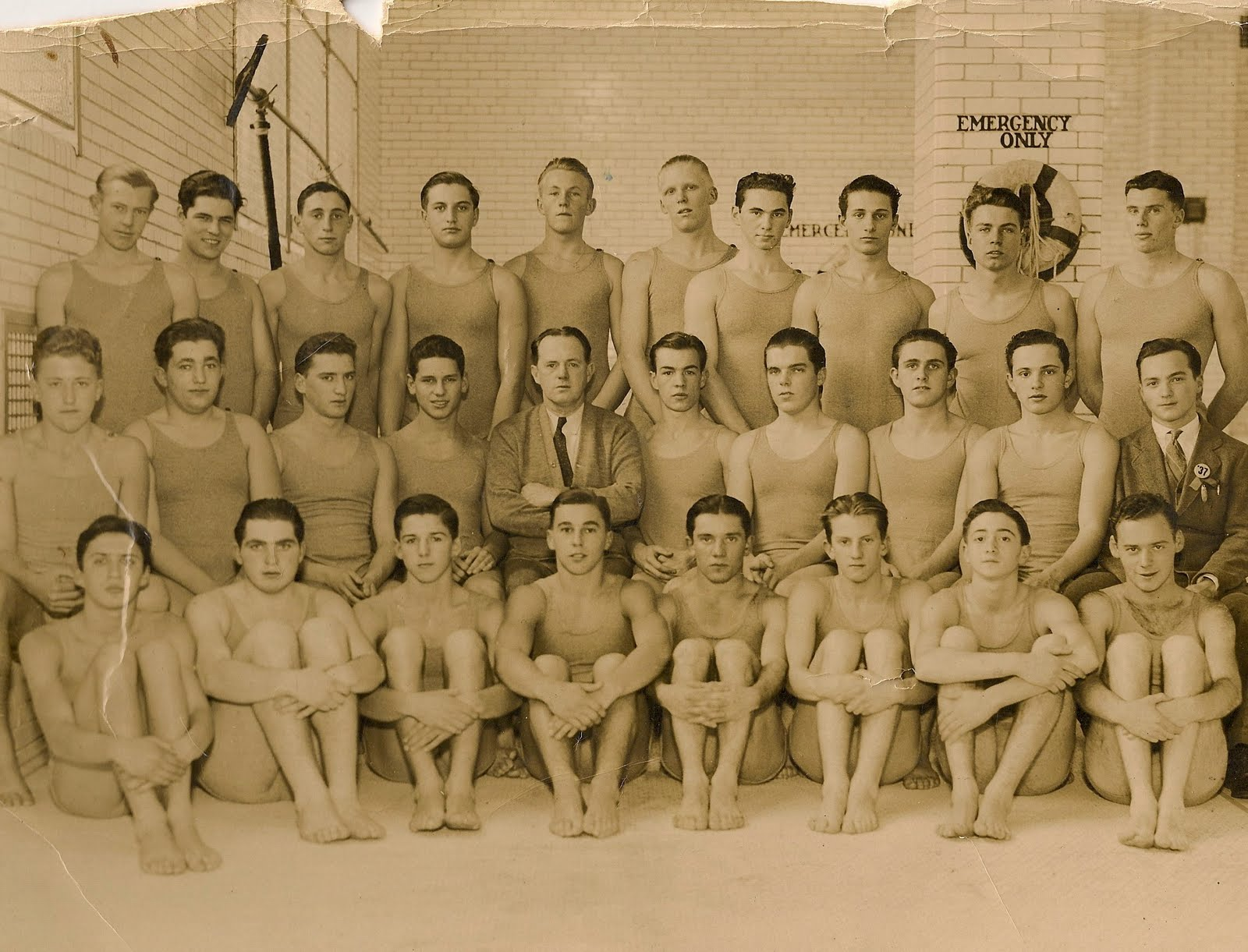 Mens Swimming Team Photos Archive