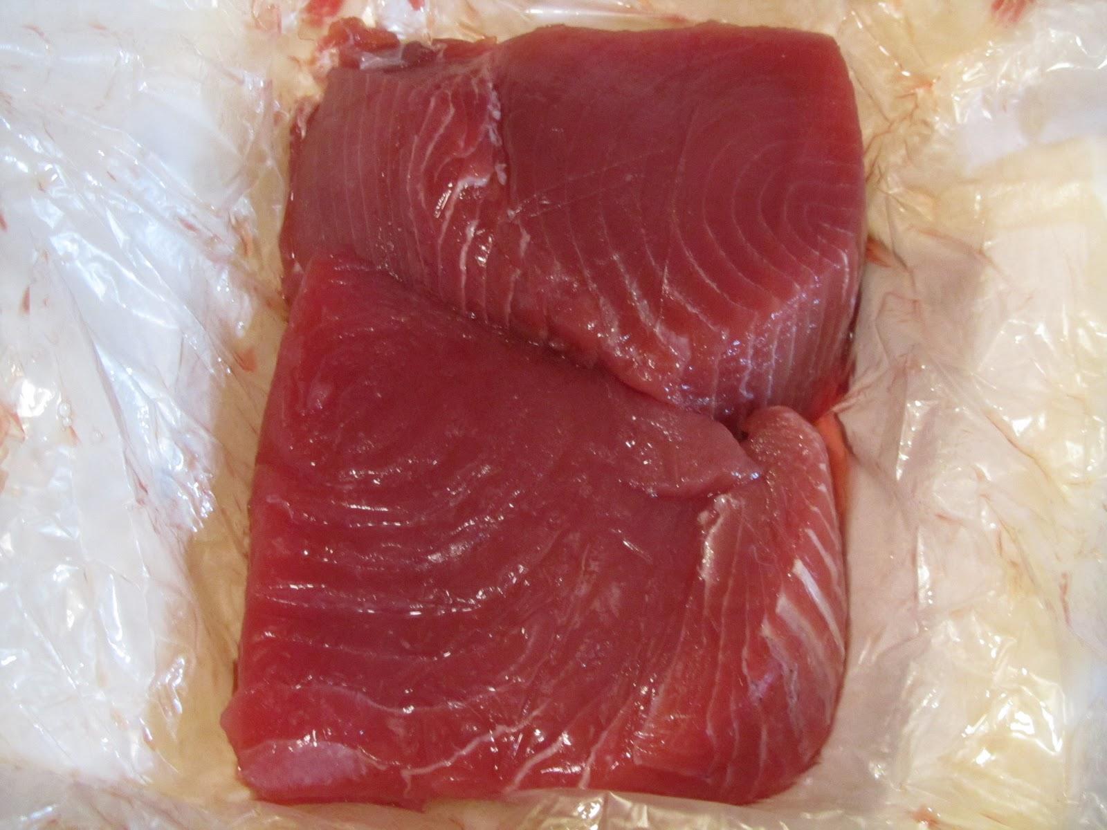 Rock 'n' Roll Gourmet: Ginger Sesame Tuna Steak
