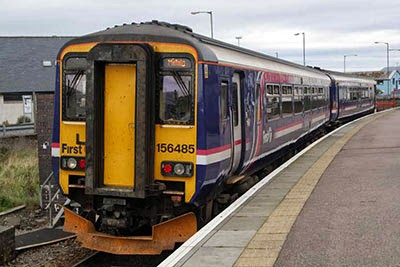 One of ScotRail's super-fast trains