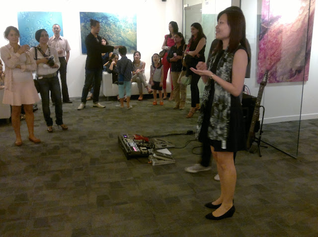 Shanen Chan, Arts Development Manager, Abstract Innovations,  Singapore, One East Asia Gallery