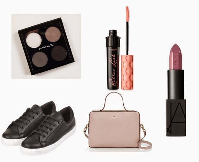 February Wishlist - Mac, Benefit, Topshop, Kate Spade, Nars