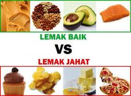 lemak baik vs lemak jahat
