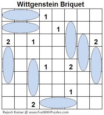 Wittgenstein Briquet (Logical Puzzles Series #8) Solution