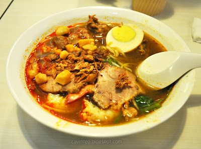The authentic prawn noodles from Penang was rumoured to have a broth ...