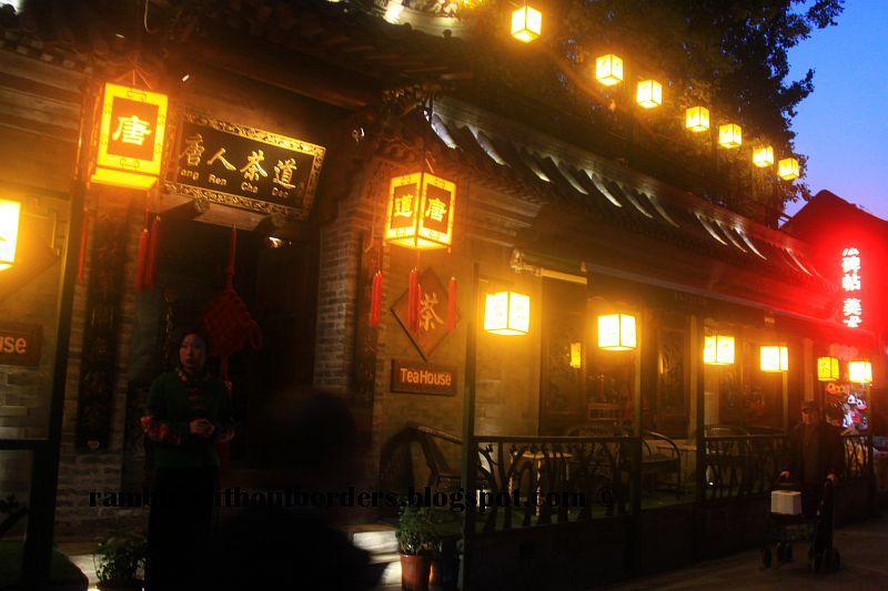 Tang Ren Tea House, Qianhai, Beijing, China