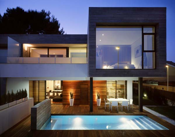 Contemporary homes modern home minimalist minimalist for Contemporary minimalist