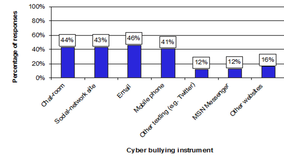 Physical and Cyber Bullying Graphs