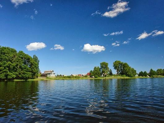 fishing trip to peaceful lake