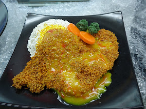 My Handmade Live size Curry Chicken Cutlet