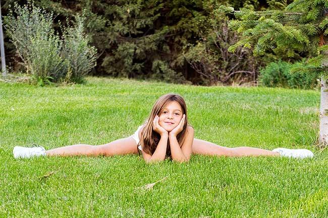 Proyecto 52: 45 Tenemos una gimnasta