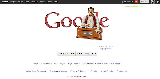 Jagjit Singh's 72nd birthday celebrated by Google doodle ghazals Songs Music Latest News Photos
