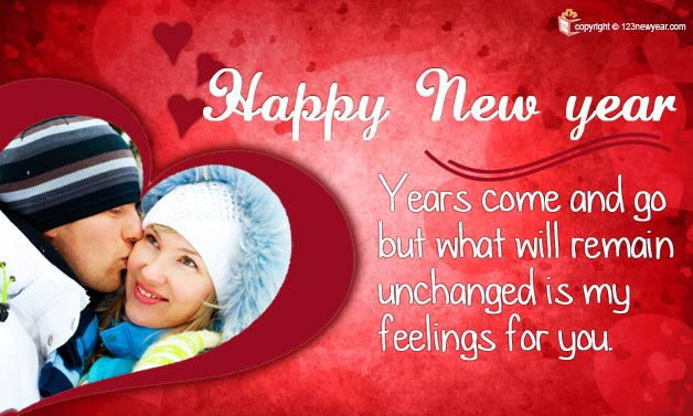 Happy new year cards for gf