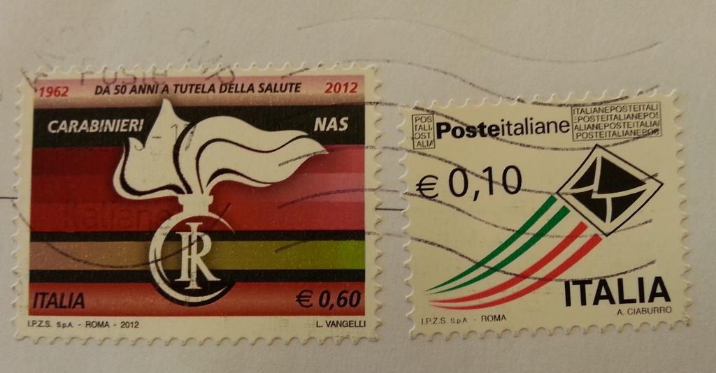 francobollo Carabinieri Nas