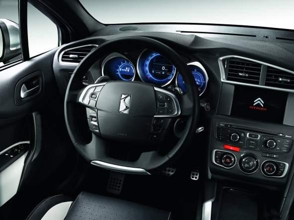 All About Ducati: Citroën DS4 Interior