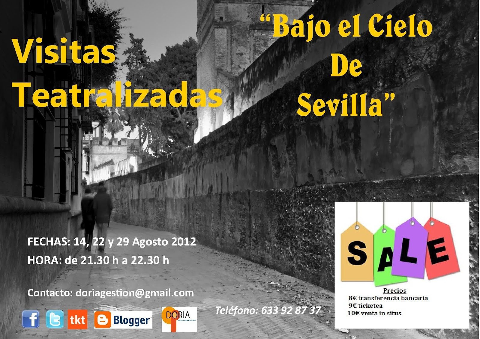sevilla singles Get ready to discover the most emblematic places of the city, its history and secrets, in our free tour through monumental sevilla we do this tour 3 times every day, with different meeting points, so feel free to join the one that suits you more.
