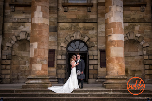 St Andrews in the Square Glasgow Wedding Photography