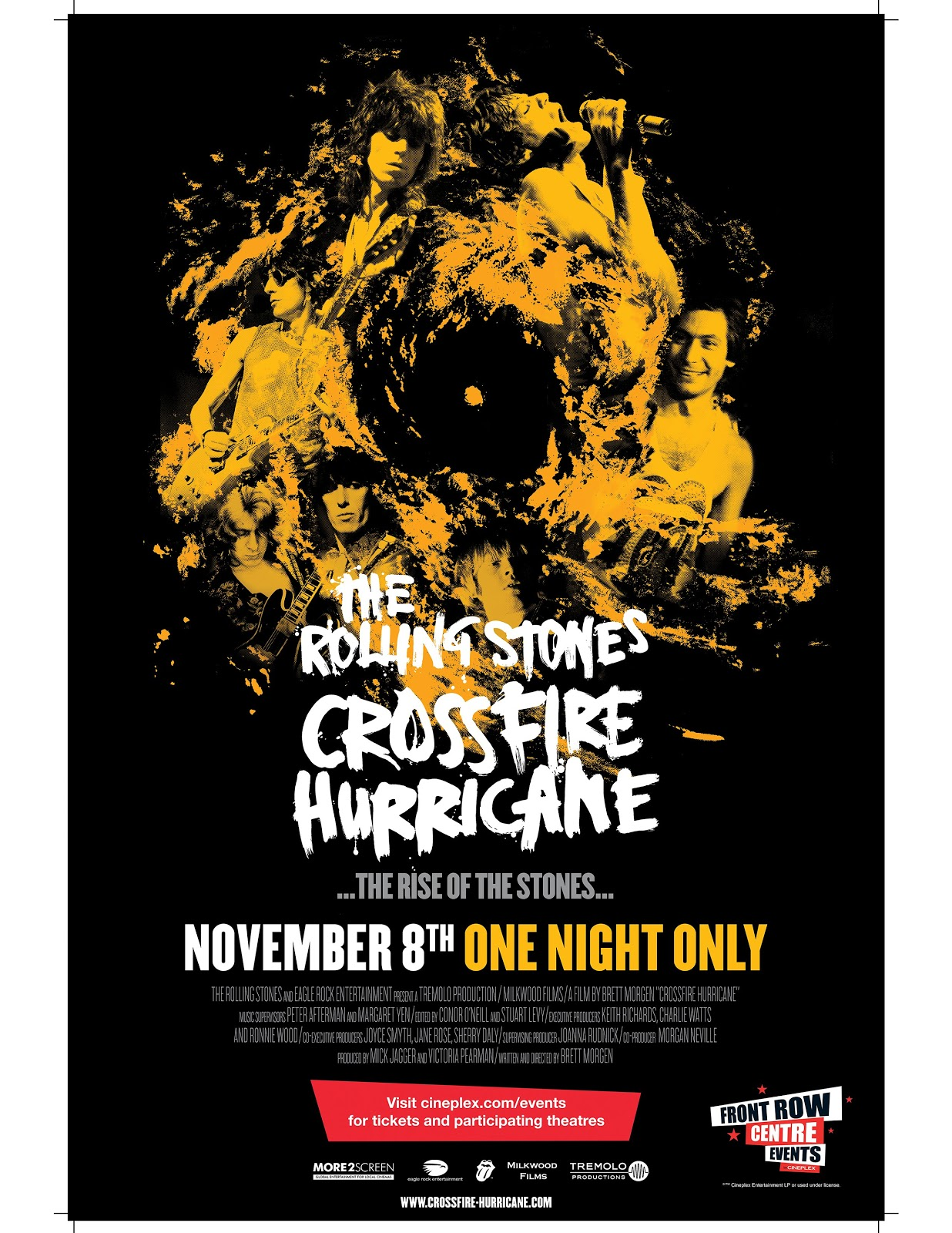 rolling stones� crossfire hurricane � movie review