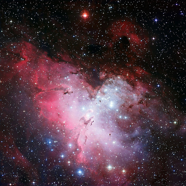 The Eagle Nebula by ESO's MPG/ESO 2.2-meter telescope