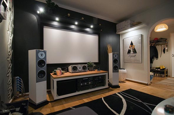 Charming Home Theater Ideas For Small Rooms